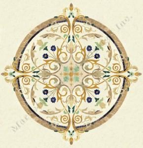 italian marble medallion