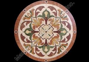 Italian marble inlaid